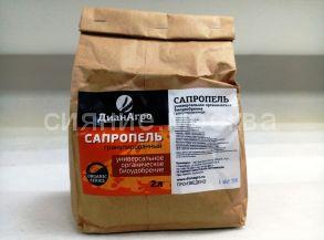 Сапропель гранулированный, 2 л (ДианАгро)