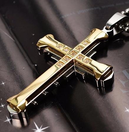 Нательный крест ZWY-0282G-AL