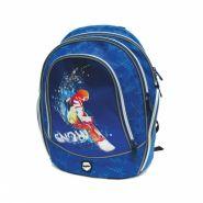 Рюкзак ранец школьный cosmo ii, snowboarder, 36x29x18 см (арт. 20215-30)