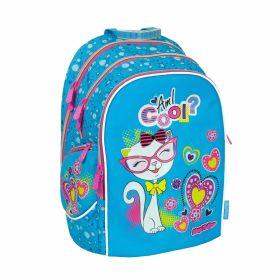 Рюкзак ранец школьный cosmo iv, kitty (арт. 20613-37)