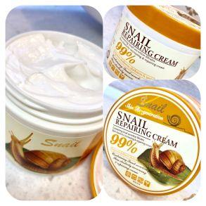 Активный крем с Улиткой Snail Repairing Cream ,115 гр