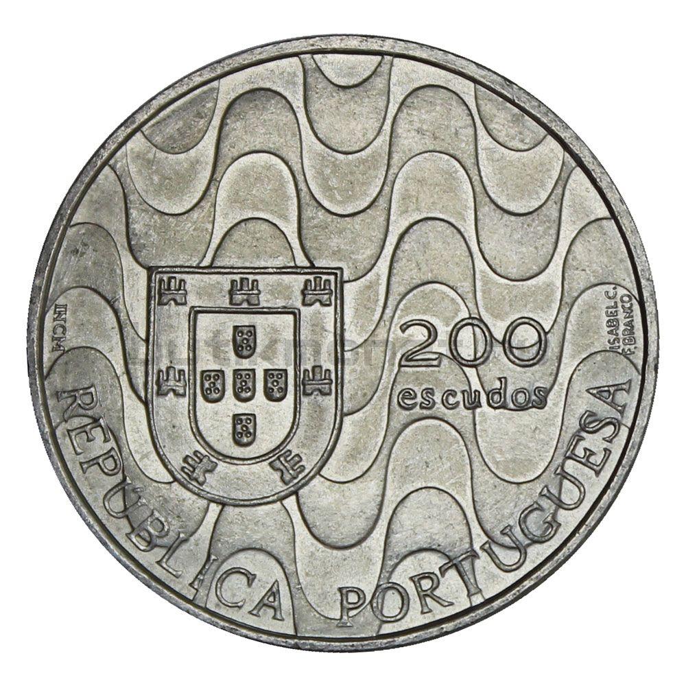200 эскудо 1992 Португалия Председательство в Евросоюзе