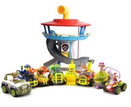 Офис Спасателей + полный комплект из 8 спасателей  на машинках (Щенячий патруль)