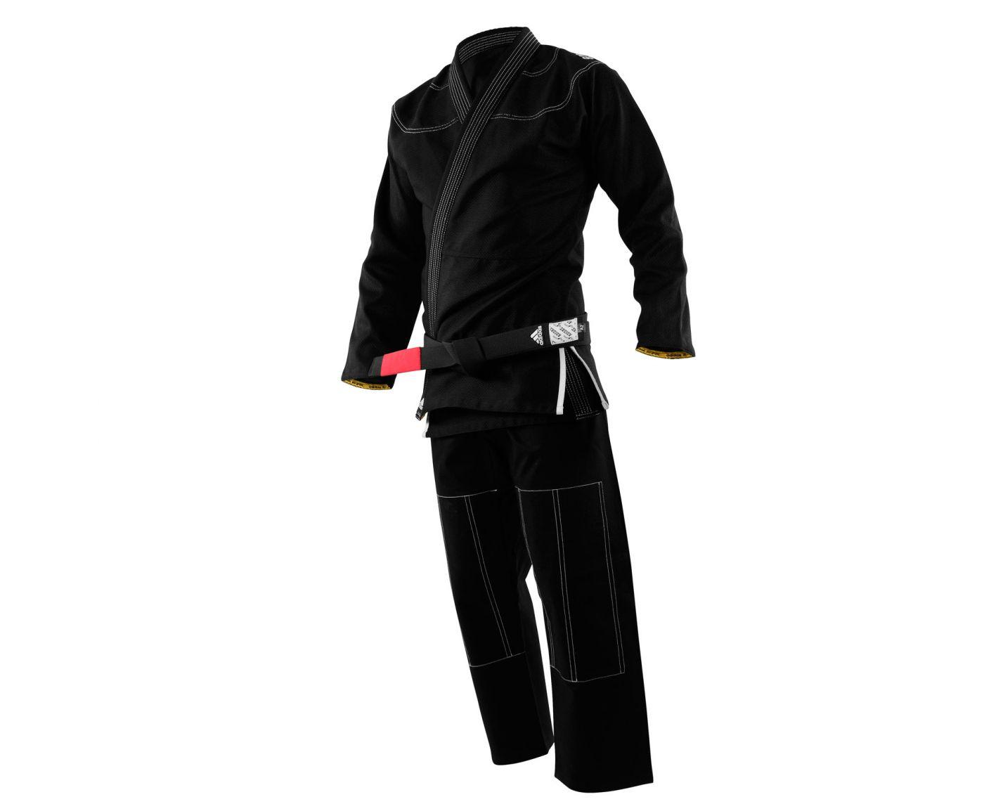 Кимоно для джиу-джитсу Challenge 2.0 чёрное, размер А1, артикул JJ350В
