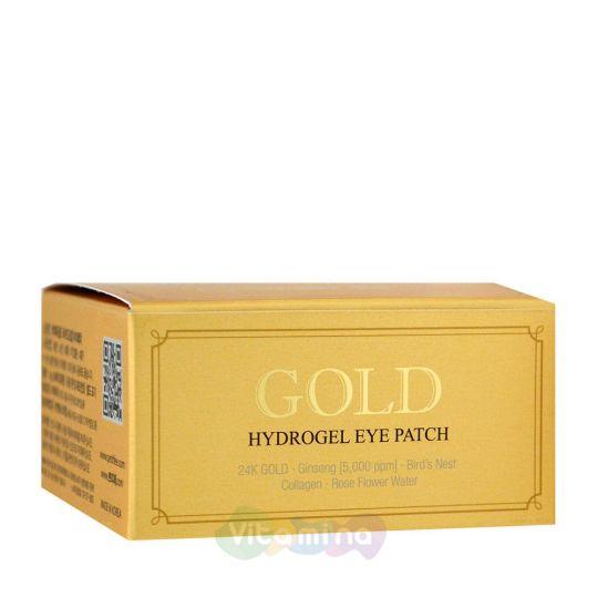 Petitfee Гидрогелевые патчи для век с содержанием частиц 24-каратного золота Gold Hydrogel Eye Patch, 60 шт