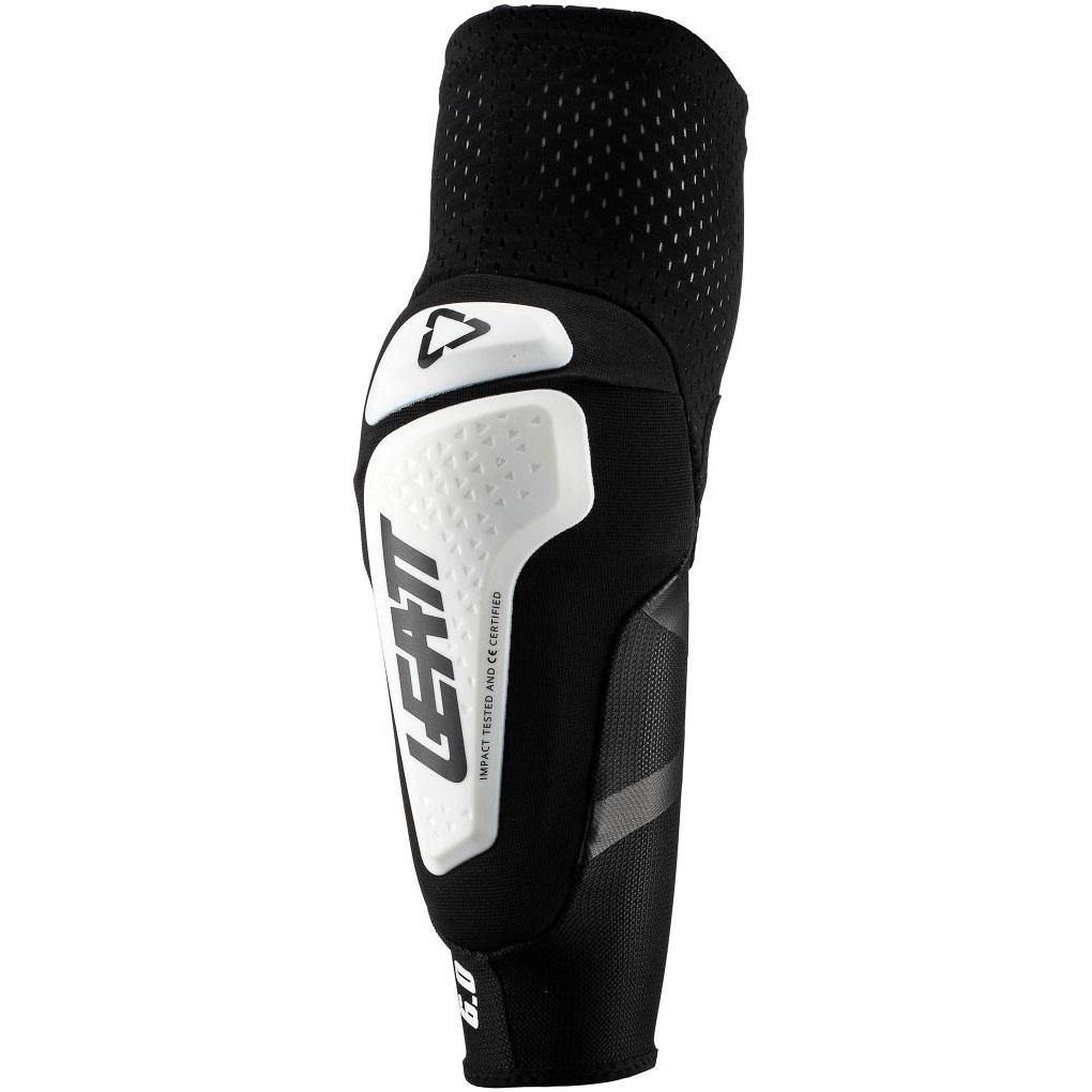 Leatt - 2019 3DF 6.0 Elbow Guard White/Black защита локтей, белая