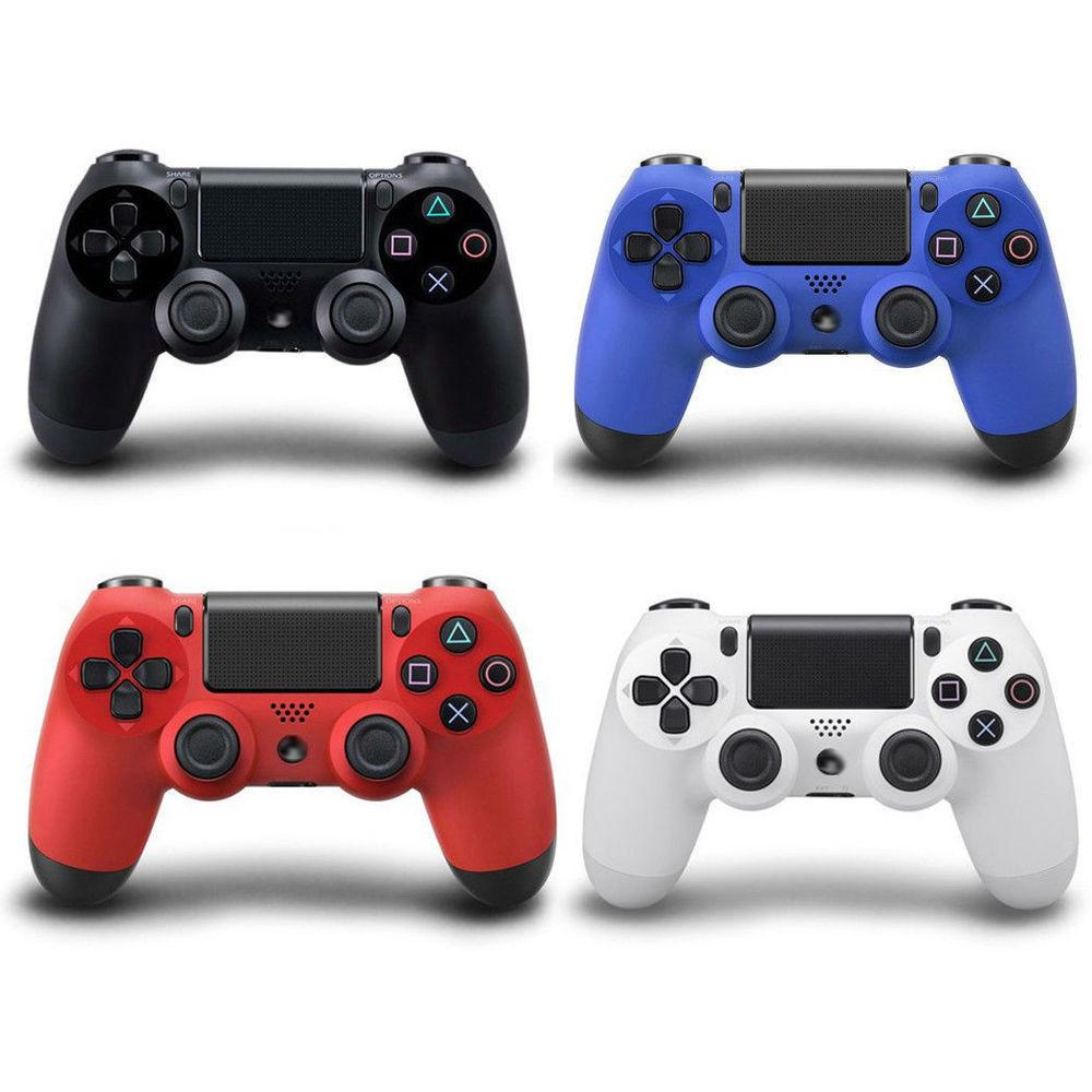 Джойстик для Playstation 4 Геймпад Ps4 синий, красный, белый