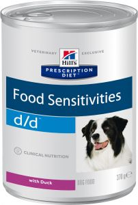 Hill's Prescription Diet Canine d/d Duck 370 гр.