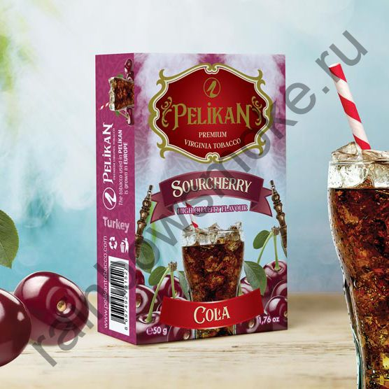 Pelikan 50 гр - Sour Cherry Cola (Вишневая Кола)