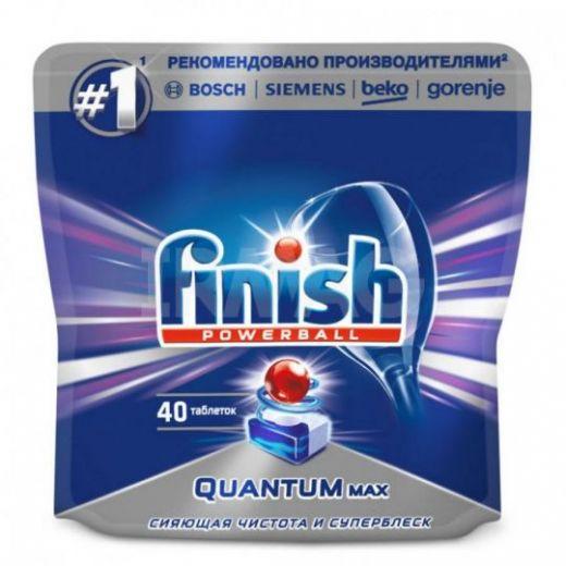 Таблетки для посудомоечных машин Finish Quantum Max (40 шт.)