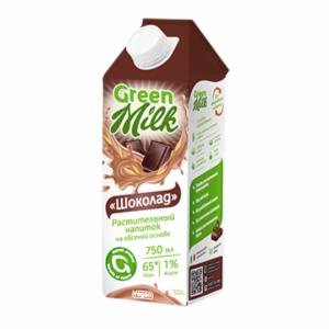"Овсяное молоко ""Шоколад"" Green Milk 750 мл"
