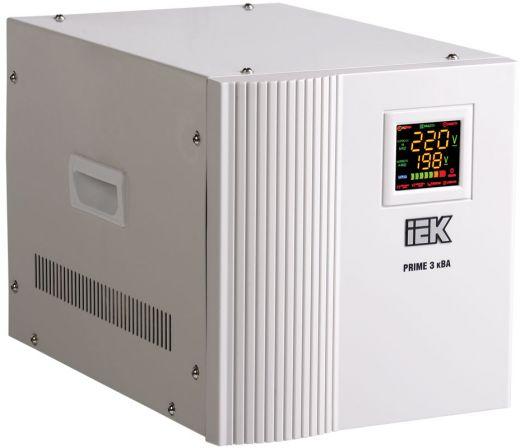 Стабилизатор напряжения переносной серии Prime 0,5 кВА IEK