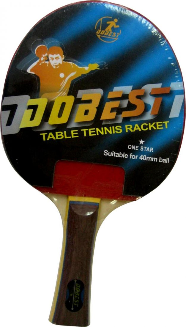 Ракетка для настольного тенниса DOBEST 1 звезда