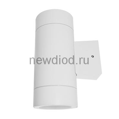 Светильник уличный двухсторонний GX53S-2W-ЦИЛИНДР под лампу GX53 230B белый IP65 IN HOME