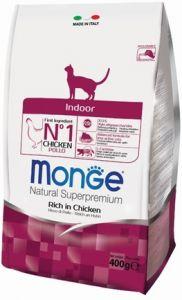 Monge Cat Indoor корм для домашних кошек  400г