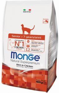 Monge Cat корм для пожилых кошек