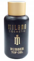 Каучуковый топ для гель-лака Rubber Top Gel Milano Cosmetic, 50 мл