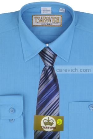 Детская рубашка дошкольная,   оптом 10 шт., артикул: Blue Aster
