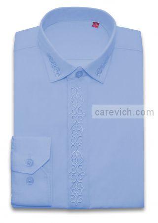 Детская рубашка дошкольная,   оптом 10 шт., артикул: Cashmere Blue-19lt