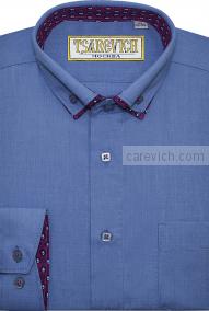 """Рубашки для мальчиков оптом """"Царевич"""" (6-14 лет.). 10 шт. Арт:Ocean 27/730"""