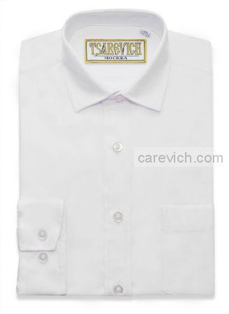 """Рубашки для мальчиков опт. """"Царевич"""" (6-14 лет.). 10 шт. Арт: PT2000 белая."""