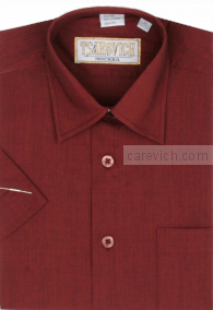 "Детская рубашка школьная,    ""ЦАРЕВИЧ"", оптом 10 шт., артикул: Maroon-К"