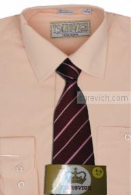 """Детская рубашка школьная,    """"ЦАРЕВИЧ"""", оптом 10 шт., артикул: Sand-К"""