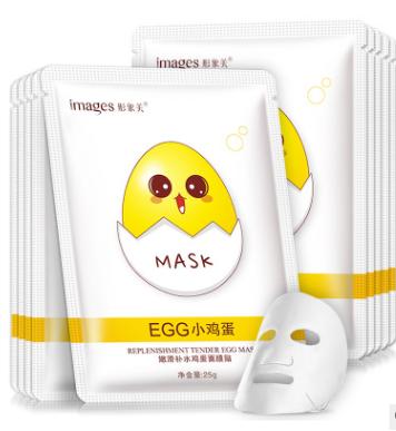 Тканевая маска с яичным экстрактом и гиалуроновой кислотой  Images от  «BIOAQUA» .(60081)