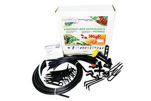 Комплект для капельного полива «Жук» от емкости на 30 растений
