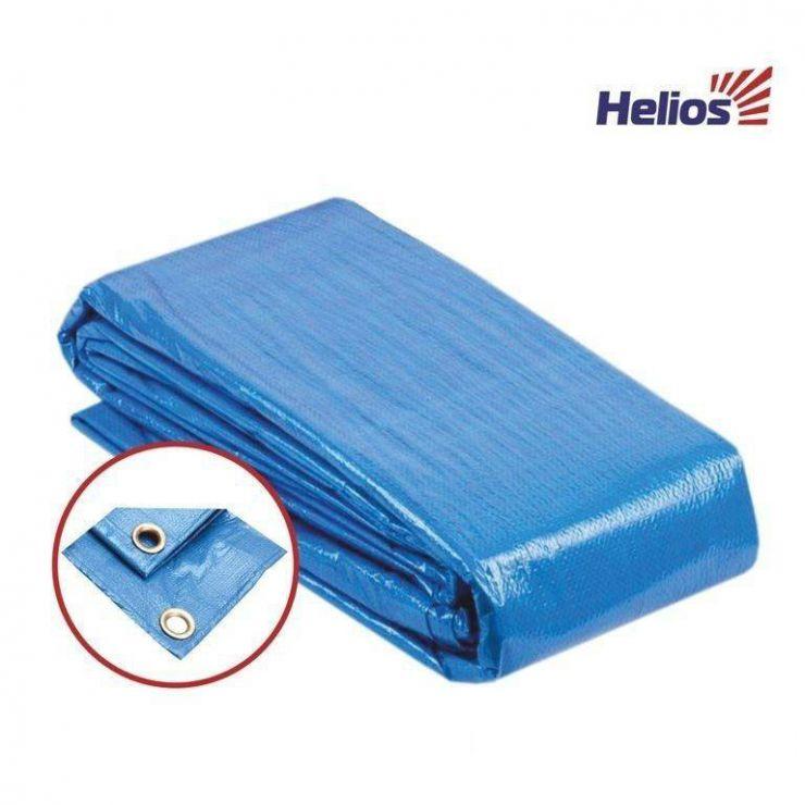 Тент универсальный 6*8 60гр. BLUE Helios