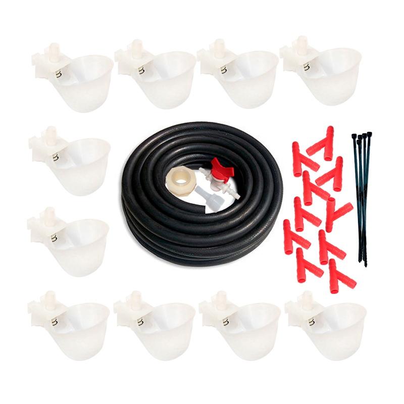 Комплект чашечных поилок НП11 «Для домашней птицы» М2