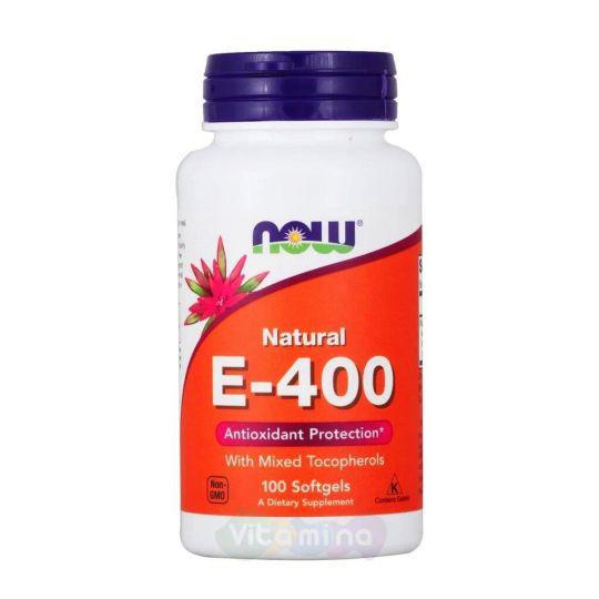 Витамин Е 400 100 капс.
