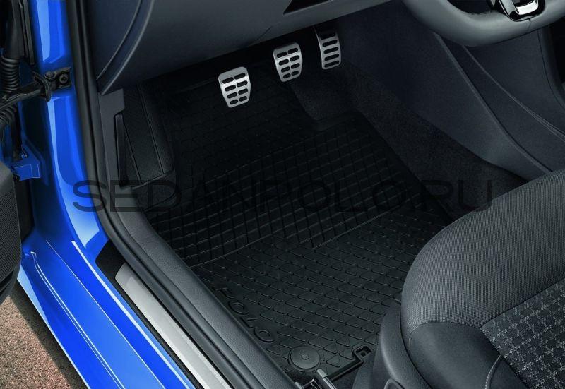 Ковры салона комплект VAG Volkswagen Polo Sedan