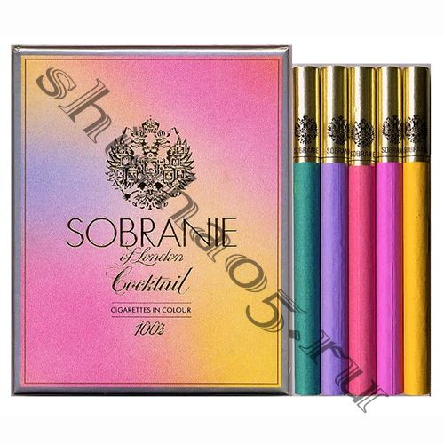 Сигареты SOBRANIE - Cocktail (Colours) 100s