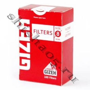 Фильтры для самокруток 8мм GIZEH Standard (100 шт)