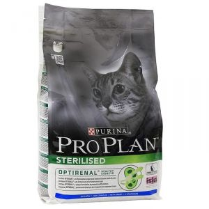 Корм сухой Pro Plan Sterilised для кошек с кроликом 0,4 кг.