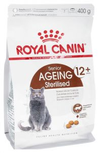 Корм сухой Royal Canin Ageing Sterilised 12+ для кошек старше 12 лет с птицей 0,4 кг