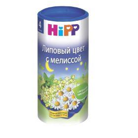 Чай Hipp Липовый цвет с мелиссой с 4мес