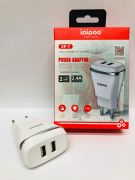 Power adapter ipipoo XP - 7 2USB