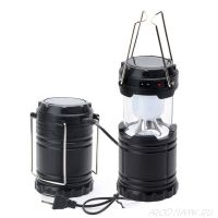 Складной кемпинговый фонарь 3 в 1, 12 см
