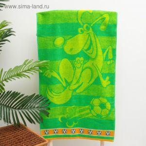 "Полотенце махровое ""Bounce"", 50х90 см, зеленый, 420 г/м 2 ,100% хл. ПЛ-2602-3065 2832888"