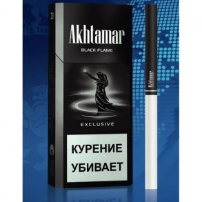 Сигареты Akhtamar Exclusive Black 115s