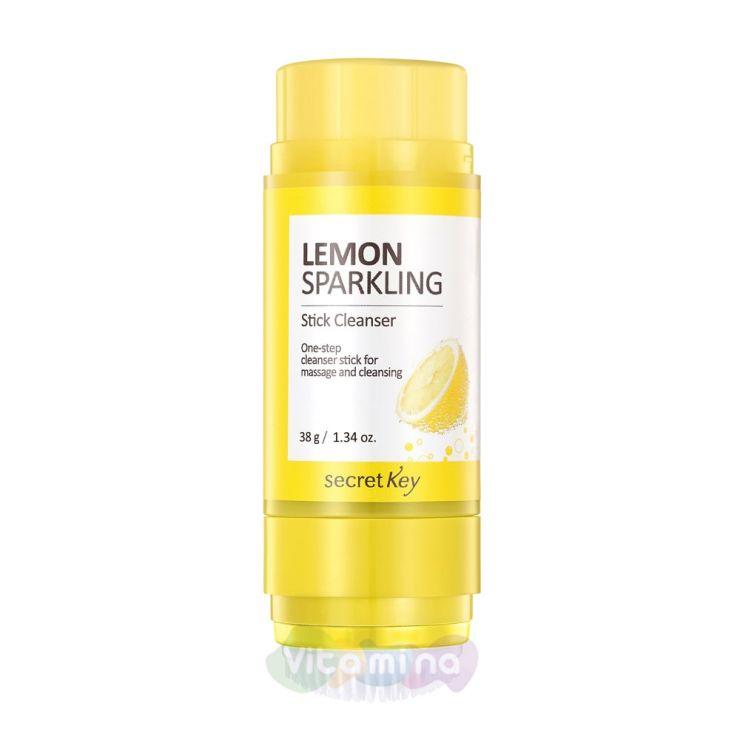 Secret Key Очищающий стик Lemon Sparkling Stick Cleanser, 38 г