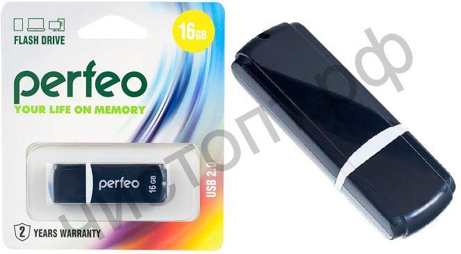 флэш-карта Perfeo 16GB C02 Black