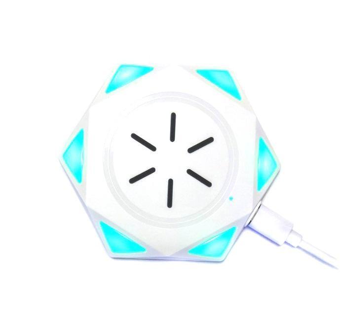 Беспроводное Зарядное Устройство Star Drill Wireless Charging BC-18, Цвет-Белый