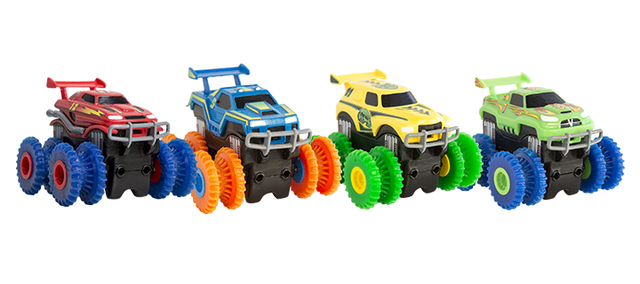 Машинка Монстр-трак Trix Trux - для канатного детского трека Trie Trul: цвет - синий.