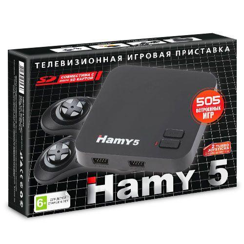 """Sega - Dendy """"Hamy 5"""" (505-in-1) Black"""