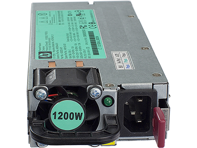 Блок питания HP 1200W Hot Plug, 500172-B21