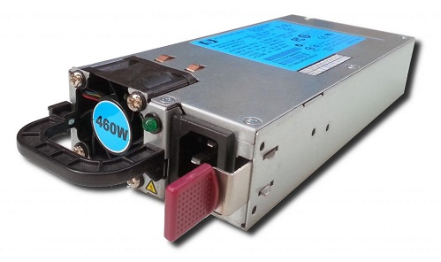 Блок питания HP 460W, 499250-301