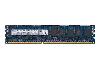 Оперативная память Hynix 8GB DDR3-1600MHz ECC Registered 1.35V LV, HMT41GR7AFR4A-PB